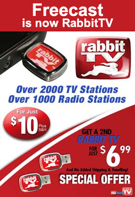 FreeCast is now Rabbit TV