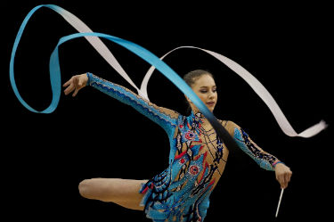 Watch Olympic Rhythmic Gymnastics live.