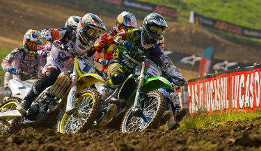 Free live streaming coverage of the 2012 Steel City National motocross event is available online.