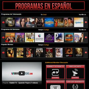 Rabbit TV Programas en Español