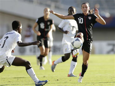 The 2012 FIFA U-20 Women's World Cup is streaming live online.