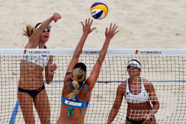 Olympia Beachvolleyball Live