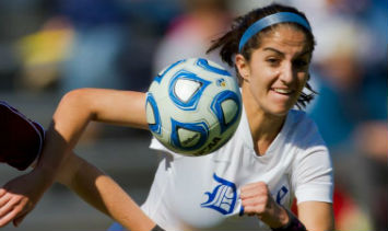 Live streaming coverage of women's college soccer games is available to watch online.