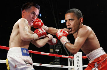 The 2012 presidential debate is streaming live online at FreeCast.