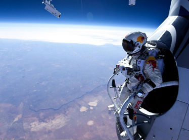 Red Bull Stratos is streaming live online at FreeCast.