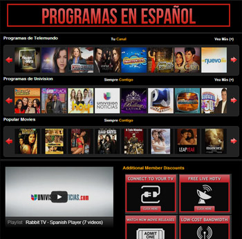 Rabbit TV Programas en Español