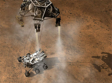 Live online streams for the Curiosity Mars landing outperformed the TV coverage.